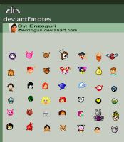 Deviant Emoticons by Enzoguri