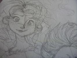 Merida sketch by embercl
