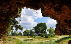 The View from the Grotto by Forestina-Fotos