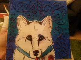 kex on canvas by nessylucy
