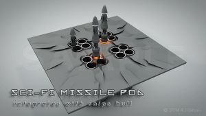 Missile Launcher Pod Preview by fission1