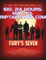 Fury's Seven at RIPT by ninjaink
