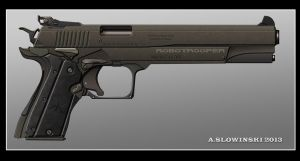 Robotrooper Pistol by BlackDonner