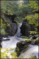 Black Linn Bridge by FlippinPhil