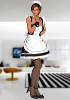 Lisa Hamilton(Maid Mod) Dead or Alive 5 Last Round by XKammyX
