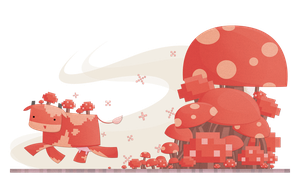 MOOSHROOM! by watermeloons