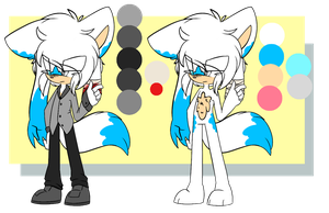Echo ref by DoodleFoxx
