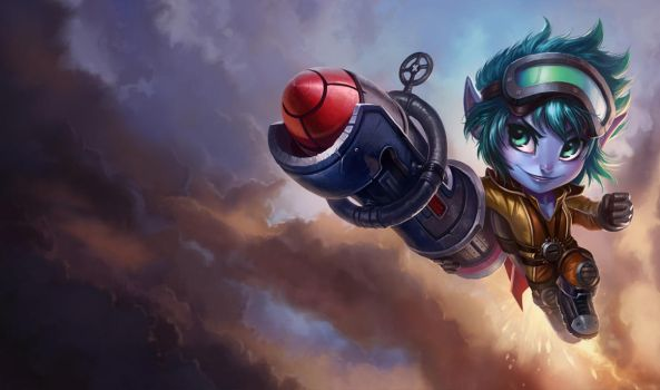 LoL - Rocket Tristana by KNKL