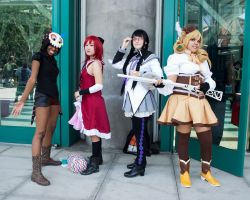 Magical Girls and Dessert Witch by EriTesPhoto