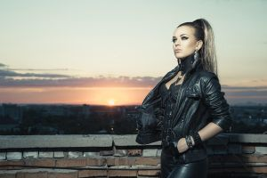 Model: Dasha Shutova by GLAMICON-NET