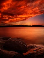 Burning sky by frestro79
