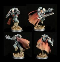 Garviel Loken of the Sons of Horus by Typhion