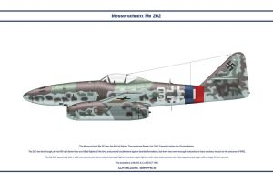 Me 262 JG7 3 by WS-Clave