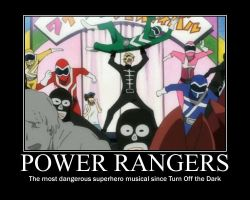 Power Rangers Demotivational by Yagton