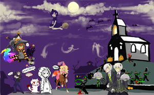 Halloween Pchat Collab 2010 by PandaPoW