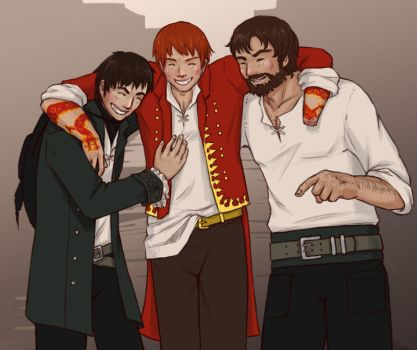 Wheel of Time - A Few Drinks by yinza