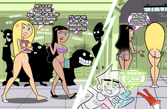 Danny Phantom: The Advantages of Being a Ghost by grimphantom