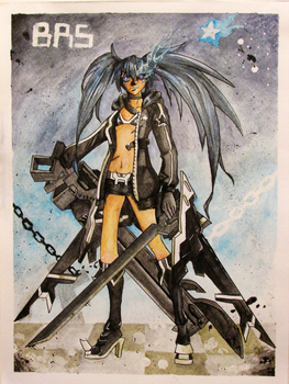 Black Rock Shooter-GAME Ver. by Goldarcanine