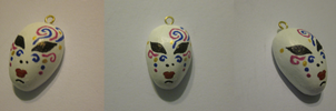 Mask Charm by BloodRed-Orchid