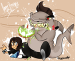 .:Insert Jaws Theme Here:. by stingybee