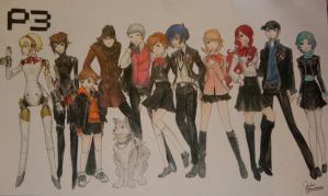 Persona 3 FES by KHArt08