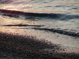 Hamlin Beach Sunset by drywall420