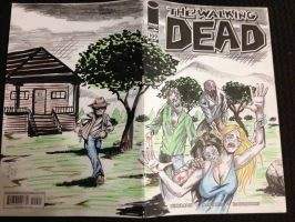 Walking Dead Sketch cover by hdub7