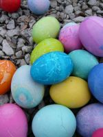 Easter Eggs 3 by dull-stock