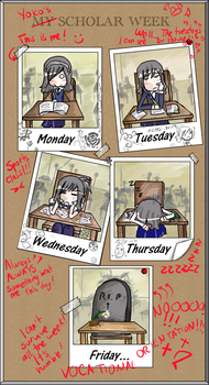 Scholar Week by YokoMorgan