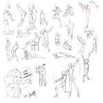 Pose Sheet by Arucelli