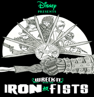 Wreck It with the Iron Fists: Movie Poster by WaRrior9100