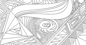 Abstract Lineart 10 by drachenlilly