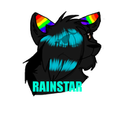 *Commission* Rainstar badge by Obsidianthewolf