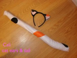 Cali cat ears and tail by cali-cat