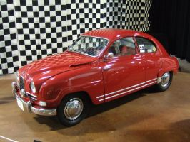 1959 SAAB 93 Grandturismo 750 by Aya-Wavedancer