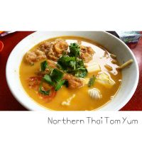 Northern Thai Seafood Tom Yum by nosugarjustanger