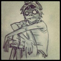 2D scared =( by nicolebertrand