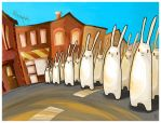 Rise of the Rabbits by boum