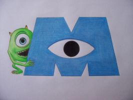 Mike from Monsters Inc by fadeinout