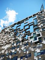 Birmingham - The Cube by willmeister42