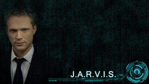 JARVIS Wallpaper by veryevilmastermind