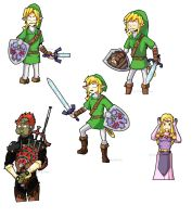Link and hish fuh-rends by Lithe-Tokay
