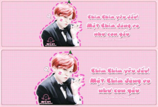 [Cover ZM and FB] Cute Jimin by RinFoxie
