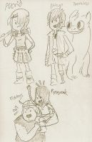 HTTYD Adventure Time Style by sailor663