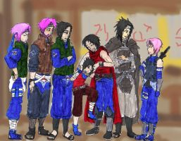 sasuke and his sons day out by 1amm1