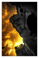 Burning Cathedral by Morillas