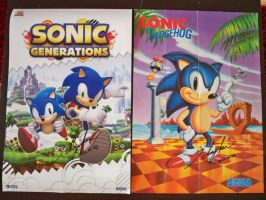 Sonic posters, 1991-2011 by funkyjeremi