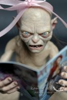 Gollum reader by kamarza