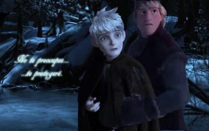Te Protegere  Kristhoff x Jack Frost by oliverespectro