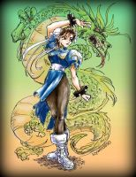 Street Fighter Chun-Li by icywind890